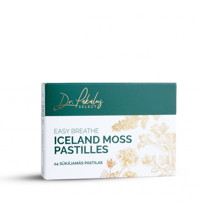 ICELAND MOSS PASTILLES